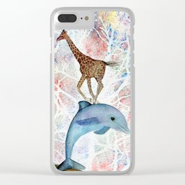 Totems by Maureen Donovan Clear iPhone Case