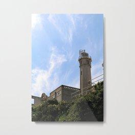 Alcatraz Looming Tower Metal Print