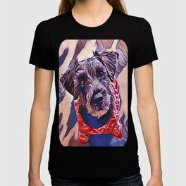 The Schnoodle - A Schnauzer Poodle Mix Breed T-shirt