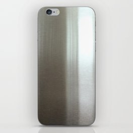 Industrial Brushed Stainless iPhone Skin