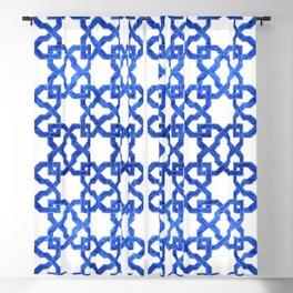 Geometric Pattern - Oriental Design rmx Blackout Curtain