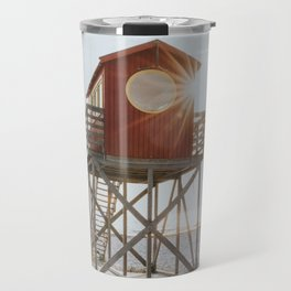 Summer at the beach - Landscape and Nature Photography Travel Mug