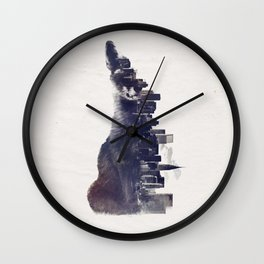 Fox from the City Wall Clock