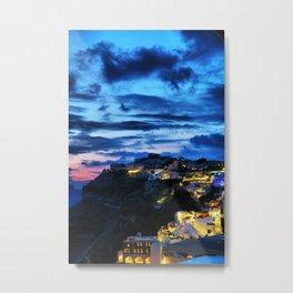 Santorini 30 Metal Print