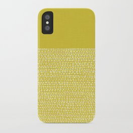 Riverside(Yellow) iPhone Case