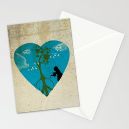cultivating peace Stationery Cards