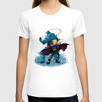 fullmetal T-shirts featuring Two Alchemist by BradixArt