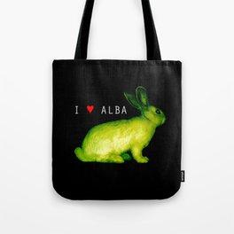 I LOVE ALBA Tote Bag