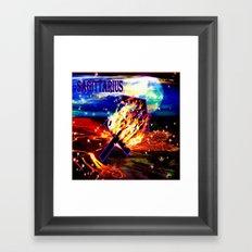 Sagittarius Framed Art Print