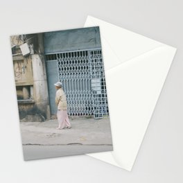 all alone Stationery Cards