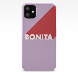 BONITA Pink Lavender iPhone Case