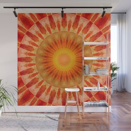 Mandala sunset Wall Mural