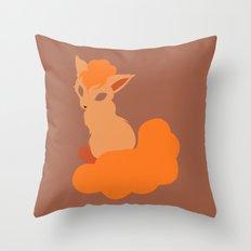 Vulpix Throw Pillow