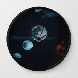 Jellyfish Cells (Color) Wall Clock