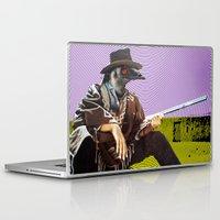 clint barton Laptop & iPad Skins featuring Clint Emu by Alan Hogan