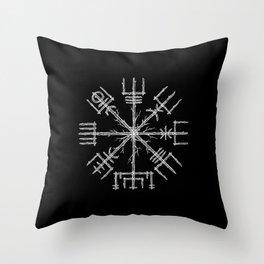 Vegvisir II Throw Pillow