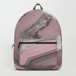 Soft Blush Agate Backpack