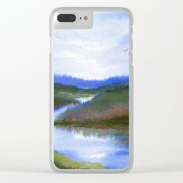 River Clear iPhone Case