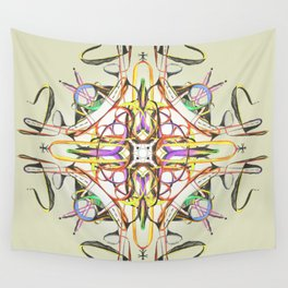 Symbiosis II Wall Tapestry
