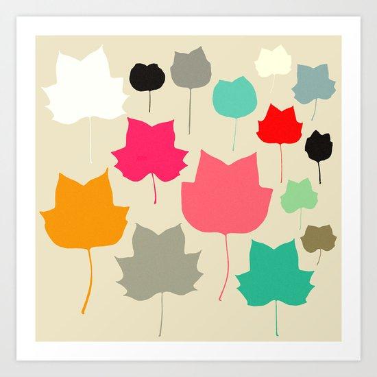 tulipifera  4 Art Print