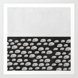 stones / abstract Art Print