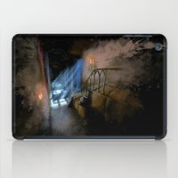 castlevania iPad Cases featuring Castlevania: Vampire Variations- Hall by LightningArts