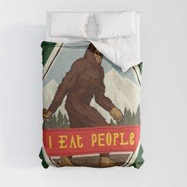 Bigfoot - I Eat People Comforters