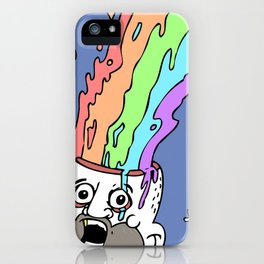 RainbowHead iPhone Case