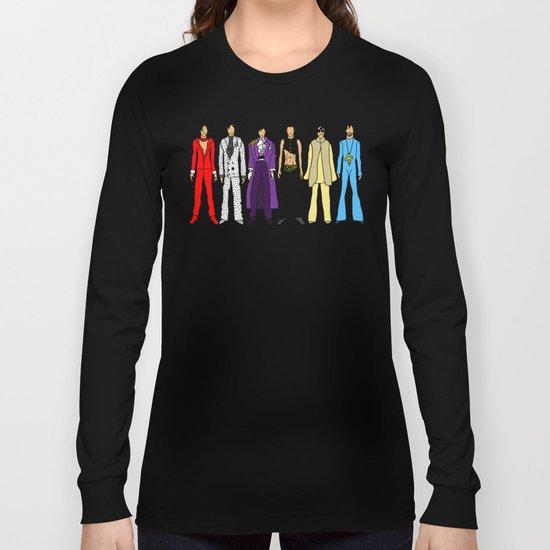 Outfits of Purple Fashion on Purple Long Sleeve T-shirt