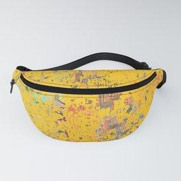 Bohemian Yellow Fanny Pack