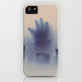 The Unwanted Thing In The Fog iPhone Case