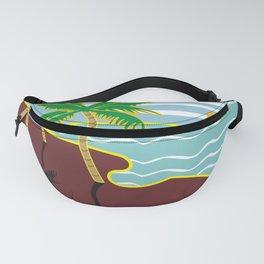 ocean desert Fanny Pack