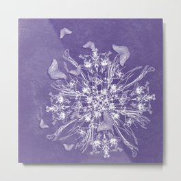 ghost bouquet and butterflies Metal Print
