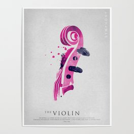 Symphony Series: The Violin Poster