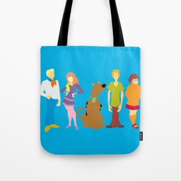 Scooby Do Gang Tote Bag