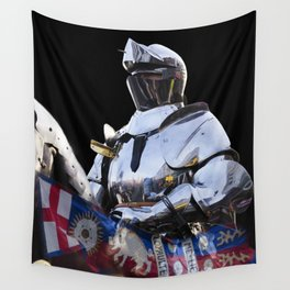 Knight and King Richards Standard Wall Tapestry