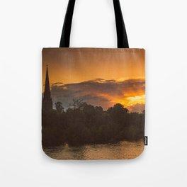 Capital Sunset Tote Bag