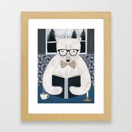 the joy of reading Framed Art Print