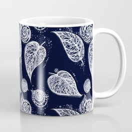 winter leaves Coffee Mug