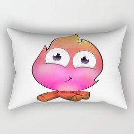 Pink cute fire Rectangular Pillow