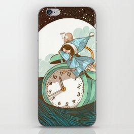 Sleep Fairy iPhone Skin