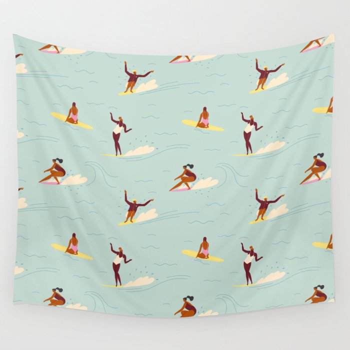 Waikiki beach Wall Tapestry
