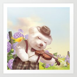 A Song For You Art Print