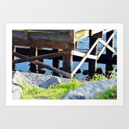 Port St. Joe Marina view 23 Art Print