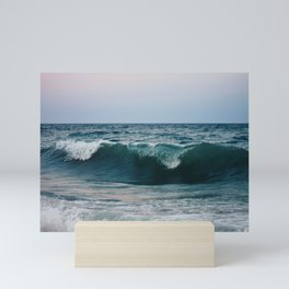 Atlantic Ocean Waves Mini Art Print