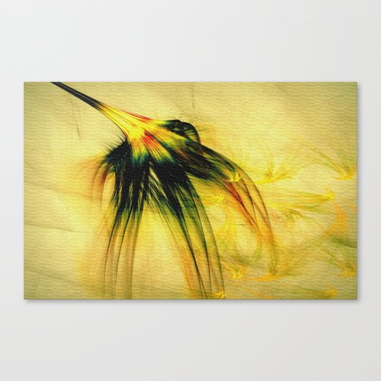 Flower in the Wind 2 Canvas Print