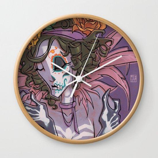 LA MUERTA Wall Clock