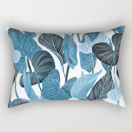 Lush Lily - chambray Rectangular Pillow