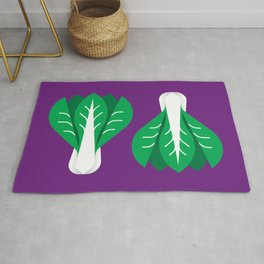 Vegetable: Bok Choy Rug