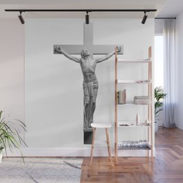 Jesus On The Cross Wall Mural